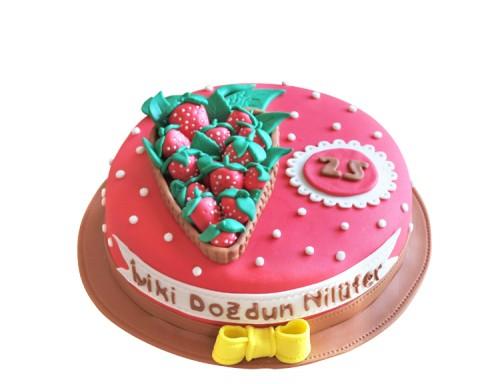 izmir doğum günü pastası
